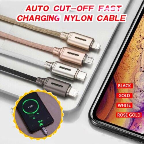 Câble en Nylon de charge rapide de coupure automatique ORIGINAL meilleur bateau rapide de qualité