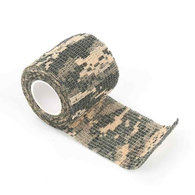 2.5/5/7. 5/10/15 ซม.Self-adhesive ผ้าพันแผลชุดปฐมพยาบาลกีฬา Body ผ้าพันคอ Vet เทปการแพทย์ความปลอดภัยการป้องกันฉุกเฉิน 5 สี