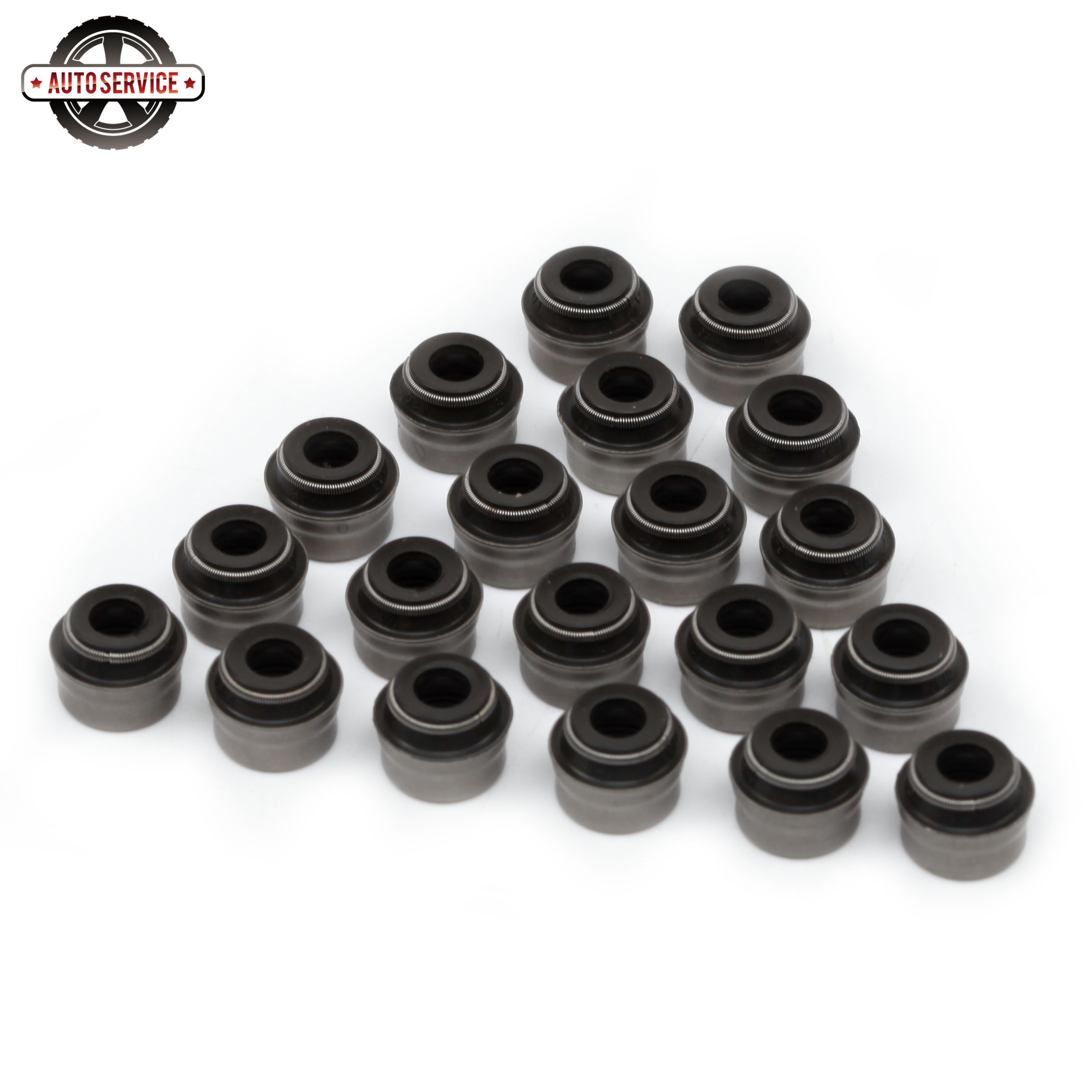 New 036 109 675 A 6mm Engine Valve Stem Seals Kit For VW Skoda Seat Porsche Mercedes Benz Audi 06B 109 675 11342245151 LDY000060