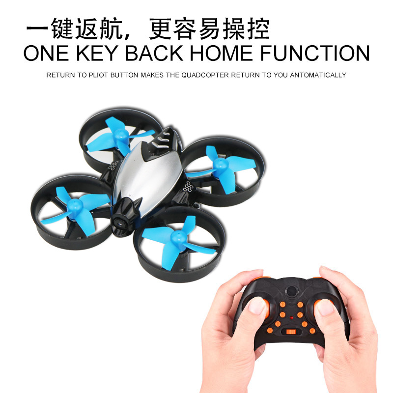 New Style Unmanned Aerial Vehicle WiFi Real-Time Transmission Mini Quadcopter Pressure Set High 30W Pixel Aerial Flight