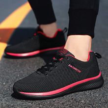 Men Casual Shoes Sneakers Lightweight Sport Breathable Feminino Masculino Lace-Up Mesh