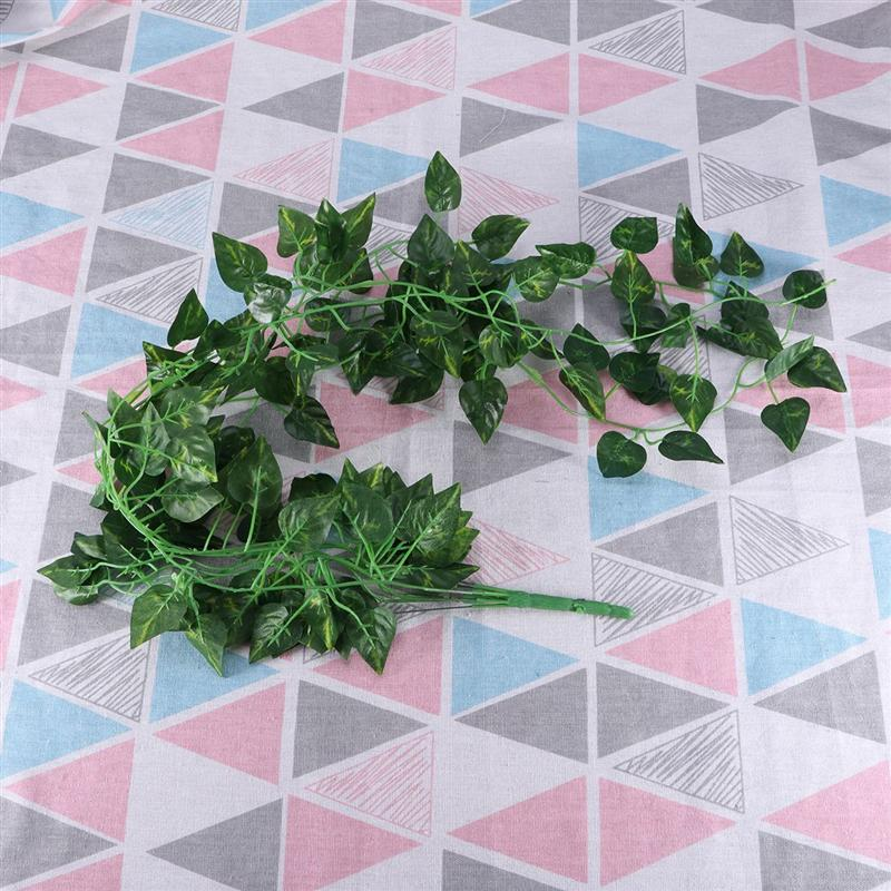 Artificial Greenery Artificial Plants Rattan Greenery Ivy Vine Plants For Home Decor Indoor Outdoor Fake Plants Home Decor