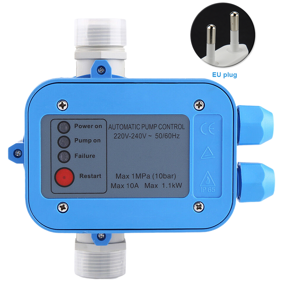 Automatic Water Pump Controller Tool Replacement 110 Or 220V ABS Waterproof Pressure Control Electronic Switch Professional Home