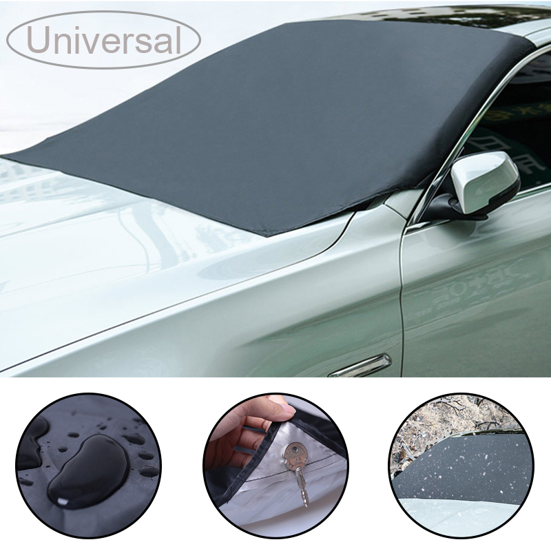 Universal  Sunshade Cover Magnetic Car Sunroof Cover Windshield Shade Shield Winter Visor Cover Car Front Windscreen Parasol