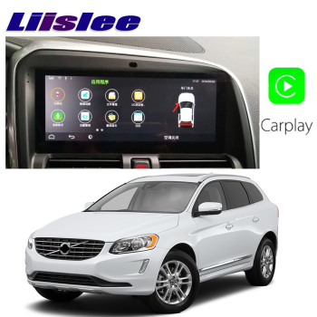 Liislee Car Multimedia Player NAVI Large screen For Volvo XC60 XC 60 2009~2019 CarPlay Radio Stereo GPS Accessories Navigation image