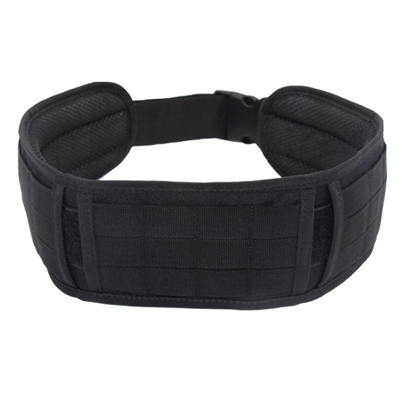 New Militar Nylon Molle Belt Tactical Belt Men Quick Release Adjustable Battle Hunting Girdle Soft Padded Airsoft Thick Belts