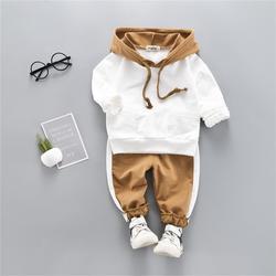 Roupa da menina do bebê outono inverno roupas recém-nascidos conjunto de algodão dos desenhos animados roupas infantis t-shirt + calças roupas terno do bebê menino