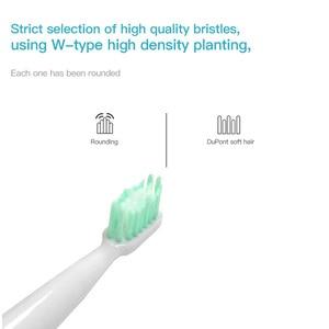 Image 4 - Escova de dentes elétrica, para adultos, à prova dágua, ultrassônica, automática, de limpeza do rosto