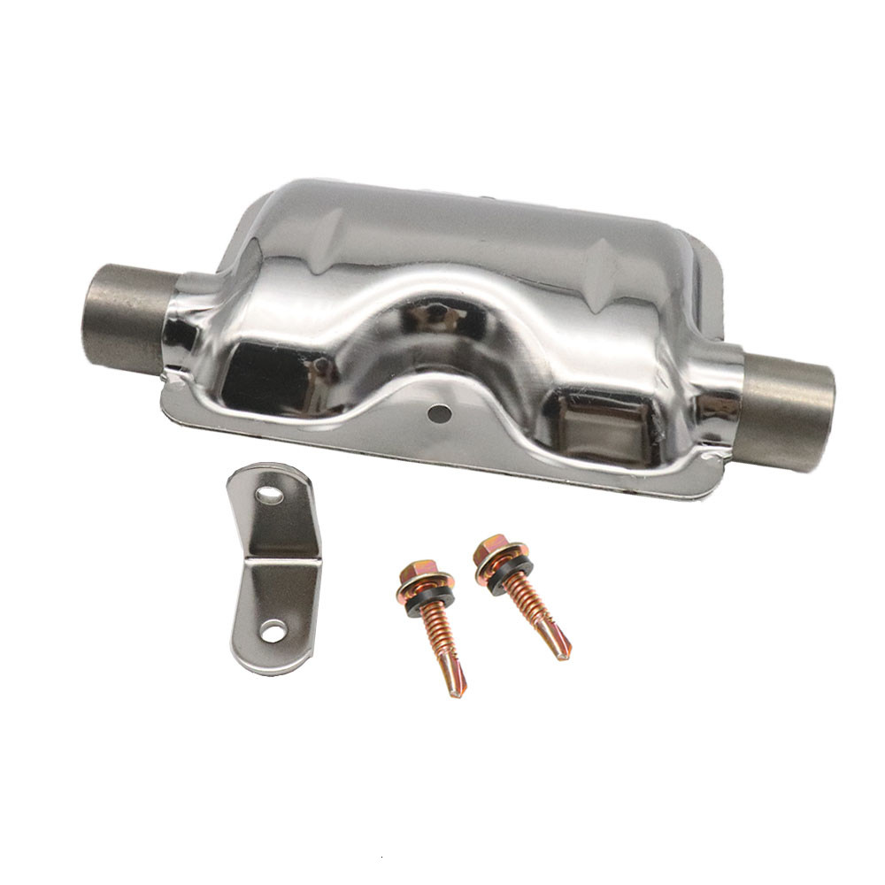 Car Exhaust Pipe Silencer for Air Diesel Parking Heater Durable Stainless Steel