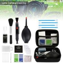 Очиститель пыли камера Чистка объектива ручка щетка комплект для Canon Nikon sony фильтр DSLR SLR DV камера Очиститель объектива