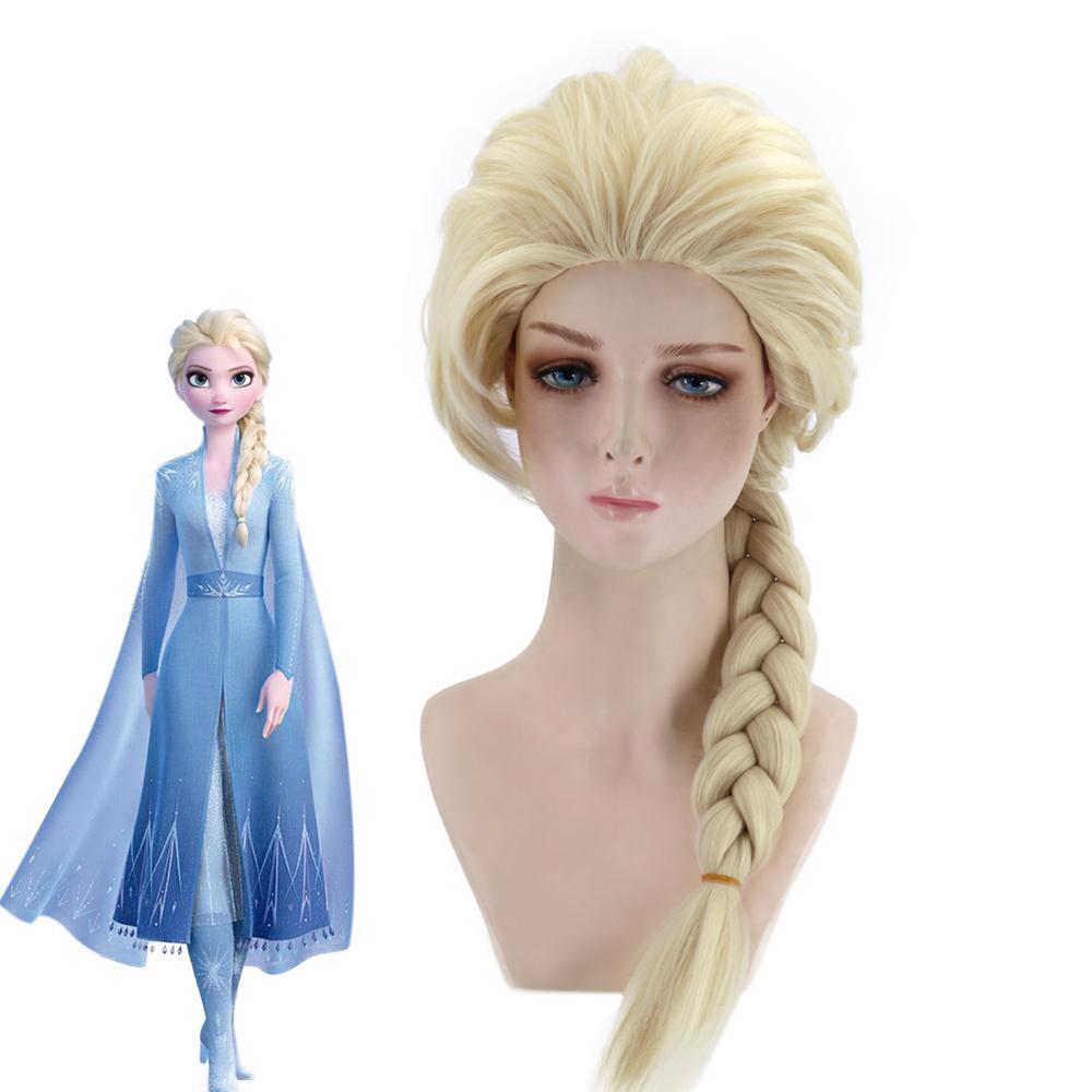 Viking Wig Light Brown or Blonde Medieval Warrior Princess Wig