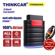 Thinkdiag – lecteur de Code pour Thinkcar PK MK808 AP200, ancienne Version/puce, système complet, Diagzone de travail, prise OBD2