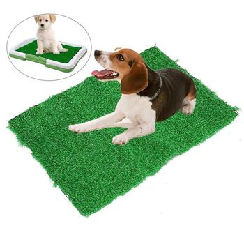 Dog Potty Training Pee Pad for Puppies and Other Small pets in Simulation Lawn Design