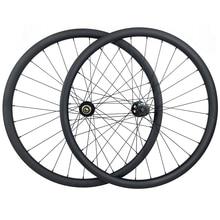 Novatec ruedas de refuerzo de carbono para bicicleta de montaña, bujes de disco de D791SB B15 sin cámara XC de 34mm de profundidad de 30mm, Pilar triple butted 2015
