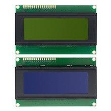 10 шт 20x4 ЖК-модули 2004 ЖК-модуль со светодиодный Ной синей подсветкой белый Символ/желтый зеленый