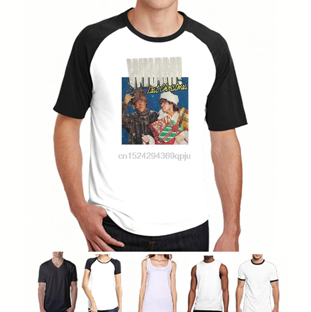 Vintage 80s Mens Medium George Michael 1988 The Faith Tour Thin Shirt WHAM White