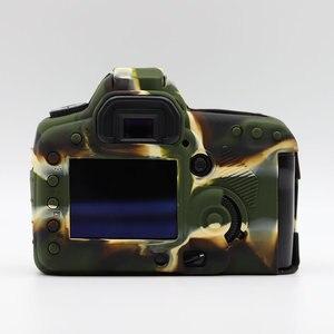 Image 5 - LimitX Silicone armure peau étui corps protecteur pour Canon EOS 5D Mark II 5D2 DSLR corps appareil photo seulement