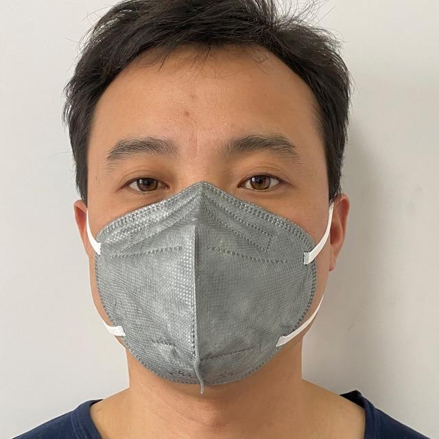 Mouth Mask Viscose Cute PM2.5 Anti Haze Black Dust Mask Nose Filter Windproof Face Muffle Bacteria Flu Fabric Cloth Respirator