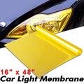 Автомобильный светильник, Тонировочная декоративная обертка, золотисто-желтая дымовая головка, светильник задняя фара туман светильник, п...