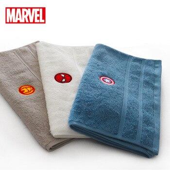 Disney kreskówkowy ręcznik Spiderman kapitan ameryka Iron Man chłopiec dziewczyna dorosły miękki ręcznik bawełna sport absorpcja wody