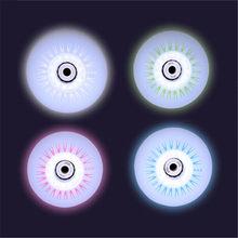 Crianças patins de rolo led roda brilho flash inline patinação pneu brilhante rodas núcleo magnético crianças 60mm 62mm 64mm 68mm 70mm 4 pçs
