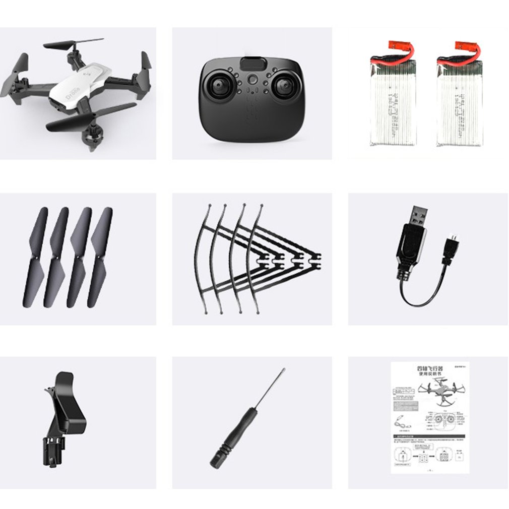 Four-Axis Aerial Vehicle Quadcopter Drone Fpv Outdoor Remote Control Wifi Fixed Height Aerial Photography Aircraft
