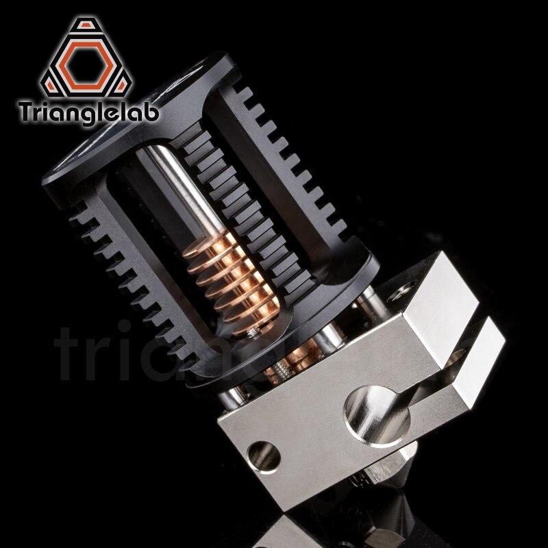 Trianglelab dragón Hotend superprecisión impresora 3D cabezal de extrusión Compatible con V6 Hotend y mosquito Hotend adaptador