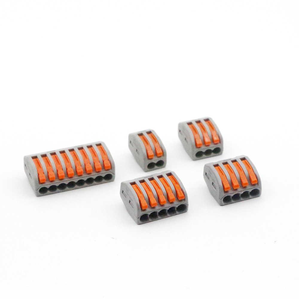 ユニバーサル端子ブロックプラグイン電線コネクタ 222-412 413 414 415 418 SPL-2 3 タイプ配線ケーブルコネクタ
