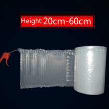 Coil-Logistics-Packaging Air-Column-Bags Disinfection Cosmetics Water-Bottle Shockproof