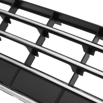 Новый автомобильный передний бампер Нижняя решетка воздухозаборник гриль хромированная отделка для Фольксваген Touareg 2011-2014 решетка гриль ...