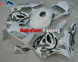 Applique Fairing For Honda CBR 600RR F5 03 CBR600RR 2003 2004 F-5 CBR600 RR 04 Motorcycle White Fairings (Injection Molding)