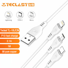 Cable-Type-C Quick-Charge Teclast Newest Micro-Usb 1m Lightning Current P10 Pvc-Material