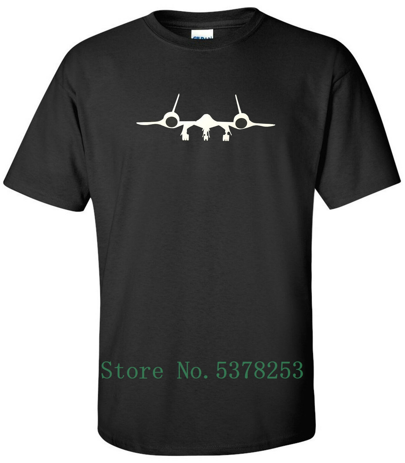 Sr-71 Blackbird T-<font><b>Shirt</b></font> Sr71 Air Force <font><b>Usaf</b></font> Veteran Patriotic <font><b>Shirt</b></font> Custom Gift 100% Cotton Mens Tshirt Unisex Hipster image