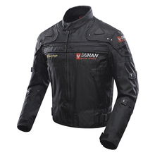 Motocross rainclothes Off-Road Jaqueta Oxford Cloth Waterproof Motorcycle Riding Racing Moto Jacket with Five Protector Clothes duhan men s oxford cloth riding motocycle racing jacket coat with cotton liner motocross windproof clothing five protector gear