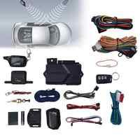 Russische Und Englisch Version Zwei-weg Auto Alarmanlage Einbrecher Alarm Fernbedienung Mit Start Alarm System TYRESAFE B9