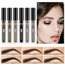 Gel-Shadow Brush Eyebrow-Cream Waterproof Cosmetic Makeup-Paint Long-Lasting 6-Colors