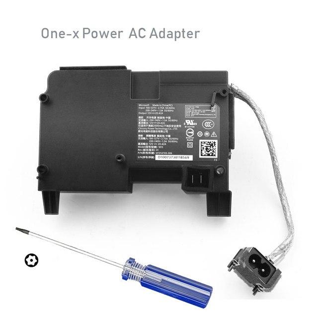 الأصلي محول تيار متردد ل xbox one x وحدة التحكم موائم مصدر تيار الحرة T8 مفك استبدال مجلس الطاقة الداخلية