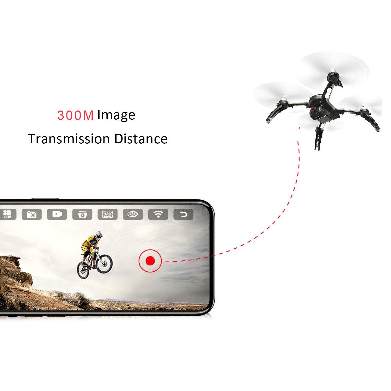 MJX Bugs 5W B5W Профессиональный радиоуправляемый Дрон с камерой 4K Дрон камера HD 5G Wifi бесщеточный Радиоуправляемый квадрокоптер gps жесты фото Vs H501S - 4