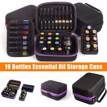 19 Bottles Essential Oil Case 5ML 10ML 15ML Essential Oil Collecting Organizer Travel Portable Carrying Nail Polish Storage Bag clinique 5ml 15ml