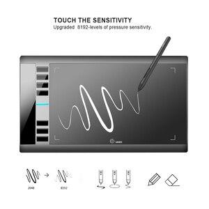 Image 3 - UGEE M708 V3 tablette graphique 8192 niveaux tablette de dessin numérique haute définition planche à dessin peinture outils enfants cadeaux