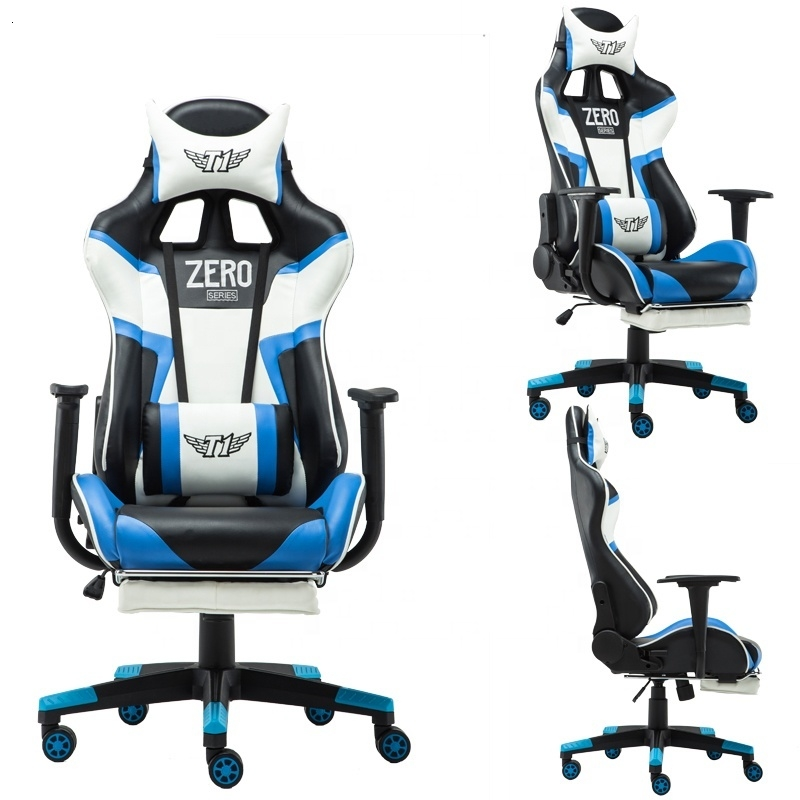 Gaming Office Chair PC Gamer Racing Style Ergonomic Comfortable Leather Racing Gaming Chair