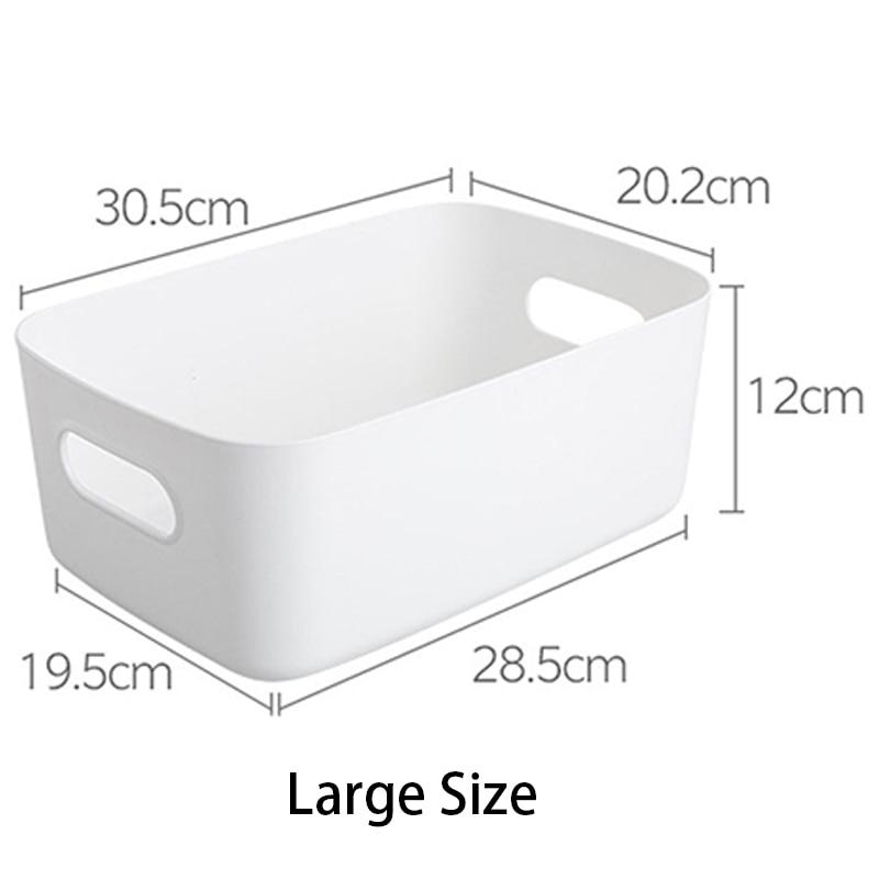 2021 neue Lagerung Boxen Tabletop Kunststoff Organizer Schubladen Für Make-Up Pflege Finishing Küche Snacks Lagerung Korb