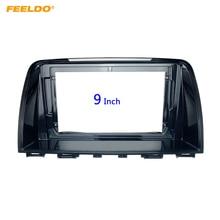 "Feeldo Auto 2Din Radio Stereo Fascia Frame Voor Mazda Atenza 9 ""Grote Scherm Cd/Dvd speler Gezicht Dash mount Trim Kit # HQ6581"