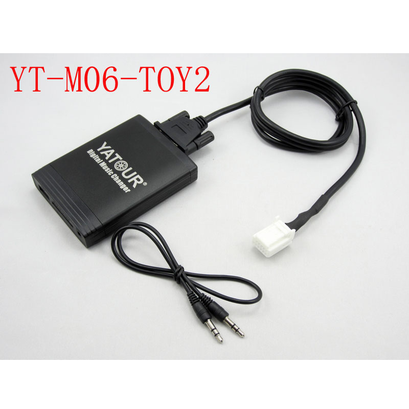 Yatour für Avensis 2003-2011 Corolla 2005-2011 Toyota Lexus Scion 2003-13 Auto stereo USB SD MP3 Bluetooth Adapter YTM06-TOY2