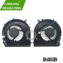 BS4805HS U3B de ventilador de refrigeración GPU para ordenador portátil, BS4805HS U3C para Gigabyte P56, P56XT, 7700HQ, GTX1070