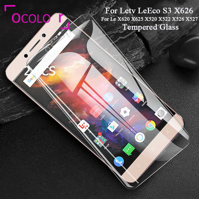ocolor For Letv X620 X625 Tempered Glass Screen Protective Film Replacement X520 X522 X526 X527 Assembly 5.5'' For LeEco S3 X626