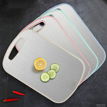 New Plastic Chopping Board Non-slip Cutting Board Anti Bacterium Hang Hole Food Slice Cut Chopping Kitchen Tools kitchen plastic cutting board non slip frosted kitchen cutting board vegetable meat tools kitchen accessories chopping board
