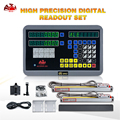 Бесплатная доставка HXX завод 2 оси цифровой индикации DRO с используется для токарно-фрезерный станок Инструменты хорошее разрешение 5u весы