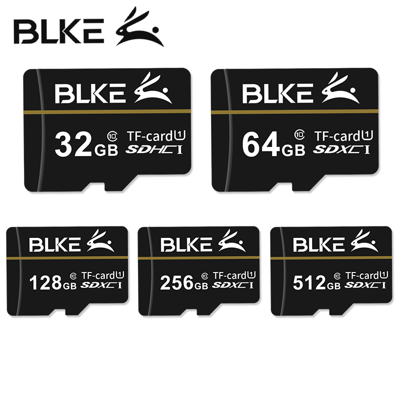 BLKE Micro Sd Card 256GB 128GB 64GB 32GB 16GB 8gb Memory Card  Class10 U1 TF Flash Card Memory For Mobile Phone Driving Recorder