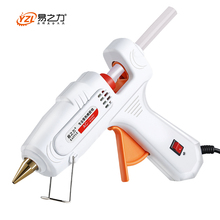 цена на Hot Melt Glue Gun with  7mm  Glue Stick Industrial Mini Guns Thermo Electric Heat Temperature Tool